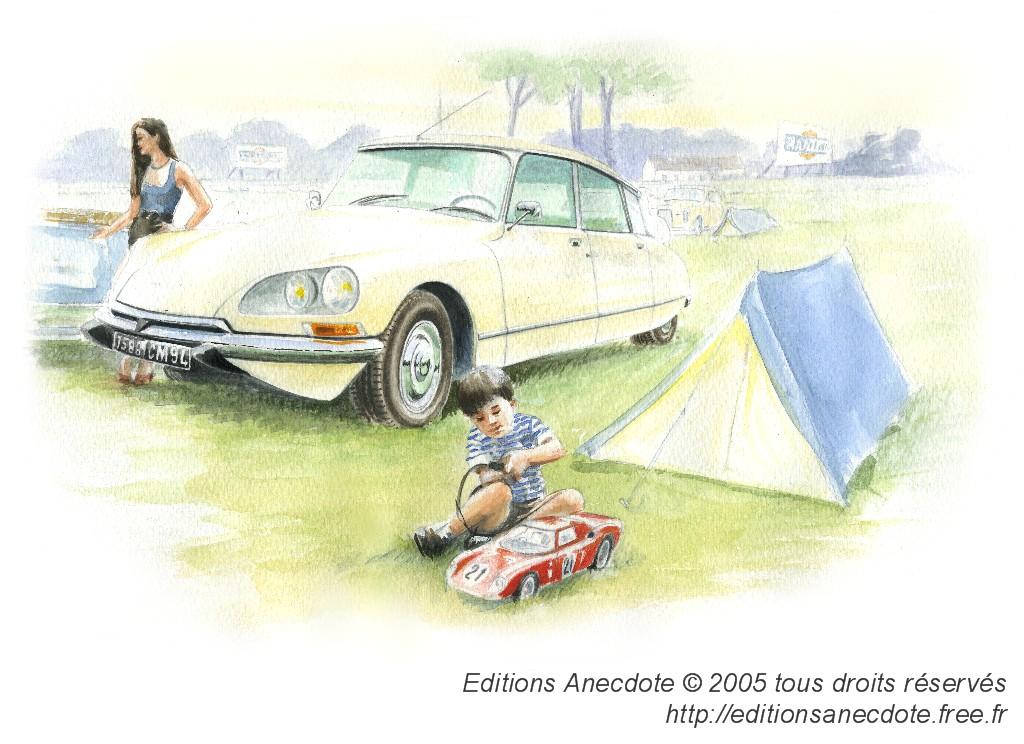 editions anecdote carnets d 39 aquarelles auto 50 ans de ds. Black Bedroom Furniture Sets. Home Design Ideas